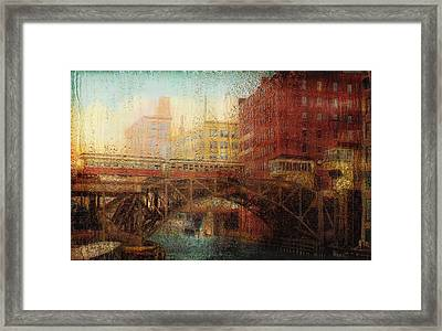 Once A Rainy Day Framed Print