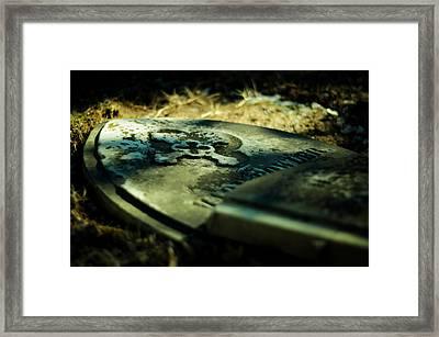 Once Beloved Framed Print