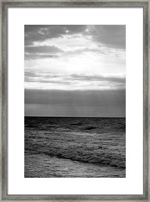 Once In The Morning Framed Print