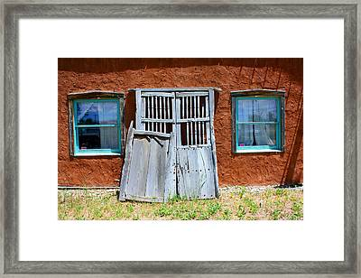 Once Lived In Framed Print