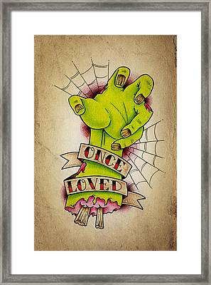 Once Loved Framed Print