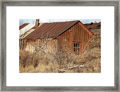 Once Occupied Framed Print by Fran Riley