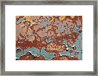 Once Painted Framed Print