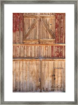 Once Red Doors Framed Print by Margie Hurwich