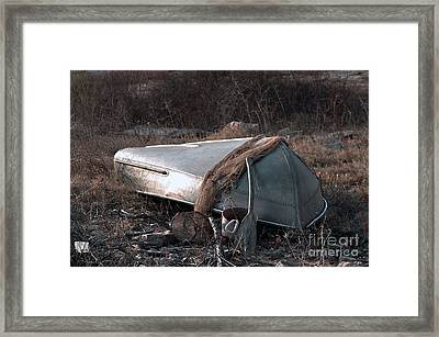 Once There Was A Fisherman Framed Print