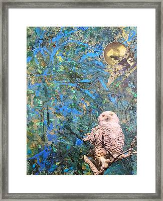 Once Upon A Night Framed Print by Megan Henrich