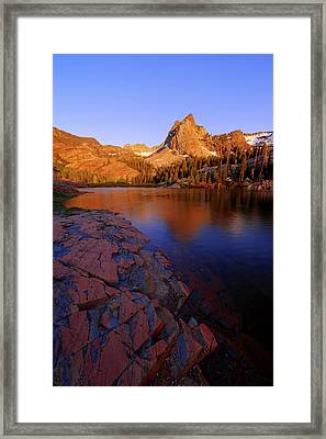 Once Upon A Rock Framed Print by Chad Dutson