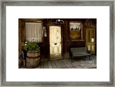 Once Upon A Time Framed Print by Claudette Bujold-Poirier