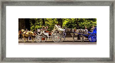 Once Upon A Time In Nyc Framed Print