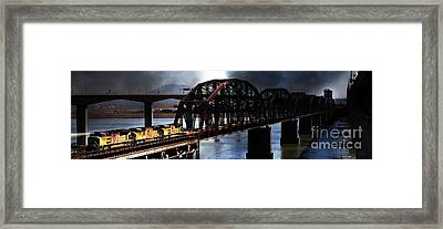 Once Upon A Time In The Story Book Town Of Benicia California 5d18849 Long Framed Print by Wingsdomain Art and Photography