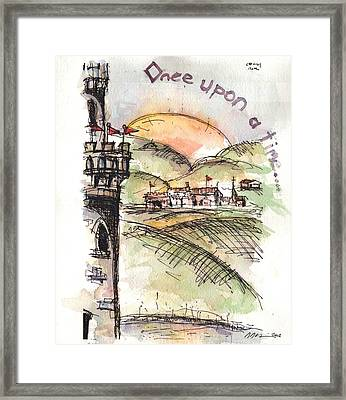 Once Upon A Time Framed Print by Jason Nicholas