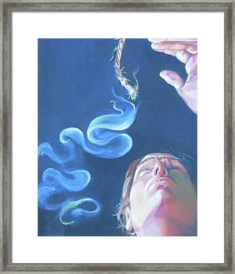 Once Upon A Time Framed Print by Julie Orsini Shakher