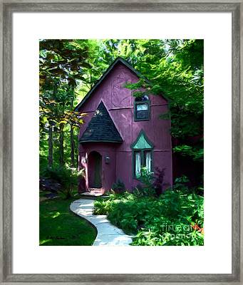 Once Upon A Time Framed Print by Mel Steinhauer
