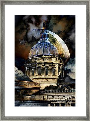 Once Upon A Time On A Warm Summers Night In San Francisco 5d22548 Framed Print by Wingsdomain Art and Photography