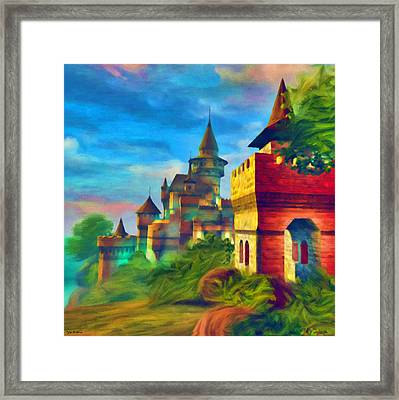 Once Upon A Time Framed Print by Tyler Robbins
