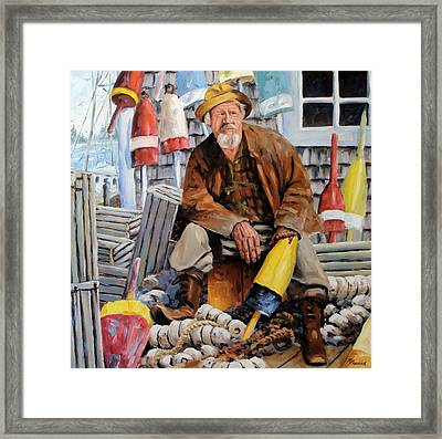 Once Upon A Time We Were Mariners Framed Print