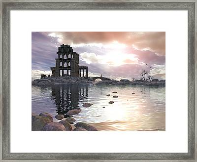 Once Was Framed Print by Cynthia Decker