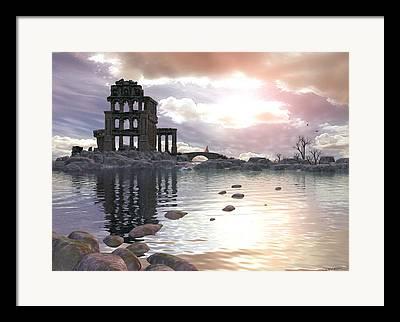 Archetypal Digital Art Framed Prints