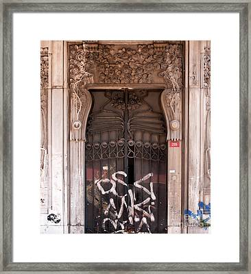 Once Was Splendid Framed Print