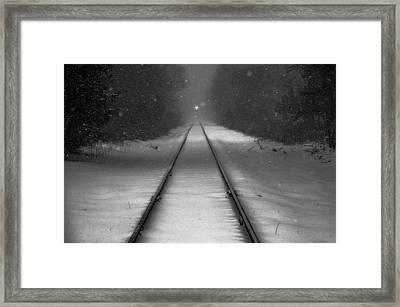 Oncoming Framed Print