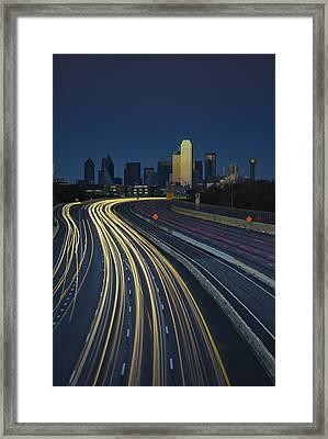 Oncoming Traffic Framed Print