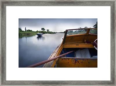 Ondo Riverine Highway Framed Print