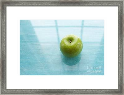 One A Day Framed Print