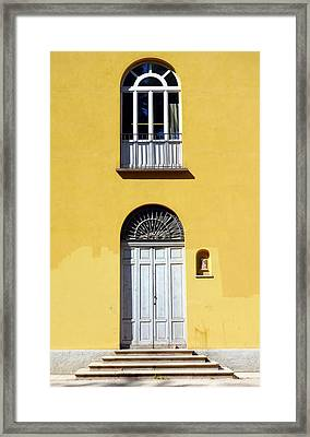 One Above The Other Framed Print by Valentino Visentini