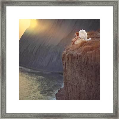 One Angel's Story Framed Print by Anka Zhuravleva