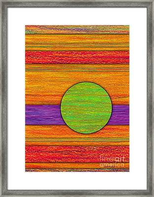 One Appeared Framed Print