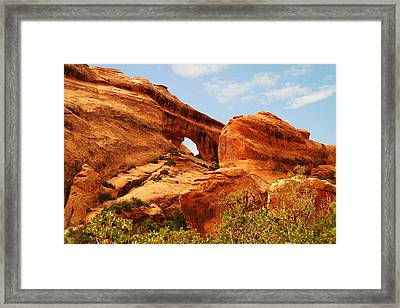 One Arch  Framed Print by Jeff Swan
