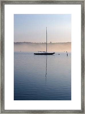 One Autumn Morning Framed Print