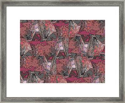 One Bump Or Two Framed Print