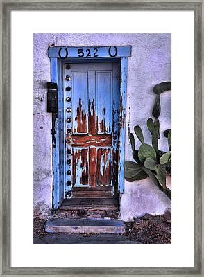 Framed Print featuring the photograph One Can Never Feel Too Safe by Barbara Manis