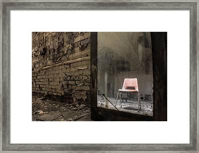 One Chair  Framed Print