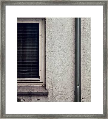 One Channel Framed Print