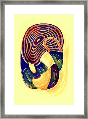 One Clean Print - Bright Framed Print