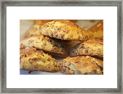 One Cream And Two Sugars Framed Print by Ira Shander