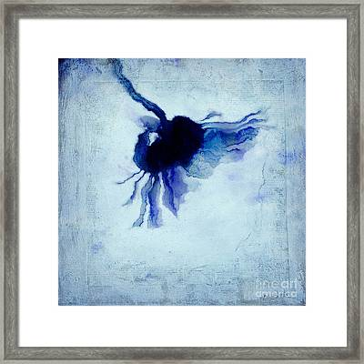 One Daisy - 442at3 Framed Print by Variance Collections