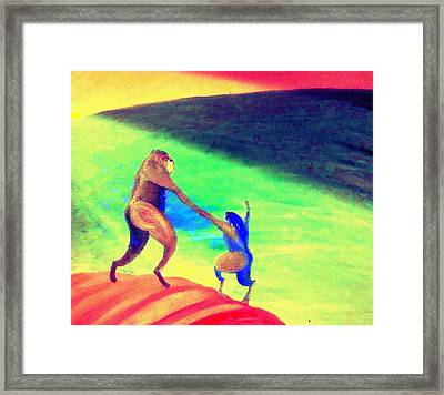 One Of These Days All This Will Be Yours  Framed Print by Hilde Widerberg