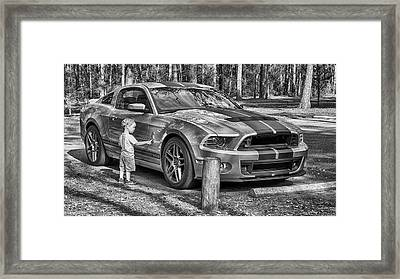 One Day Framed Print by Howard Salmon