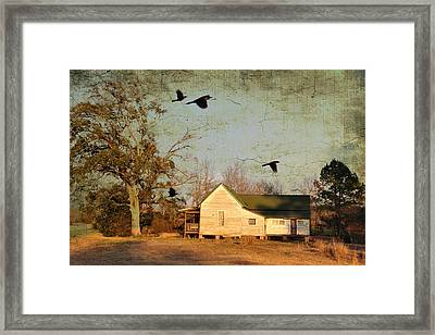 One Day It Will Be Gone Framed Print by Jan Amiss Photography