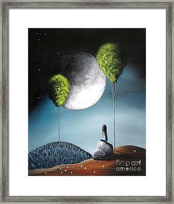 One Day She'll See You In Heaven By Shawna Erback Framed Print
