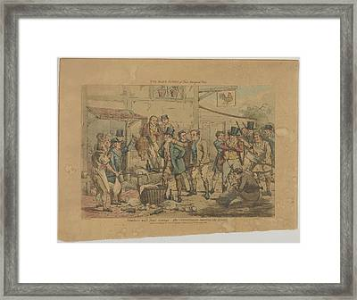One Days Sport Of Three Real Good Ones Framed Print