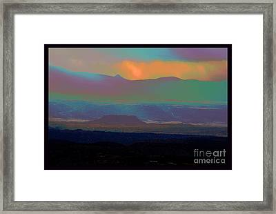 One Enchanted Evening Framed Print by Susanne Still