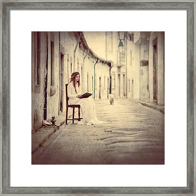 One Evening In Viana Framed Print by Anka Zhuravleva