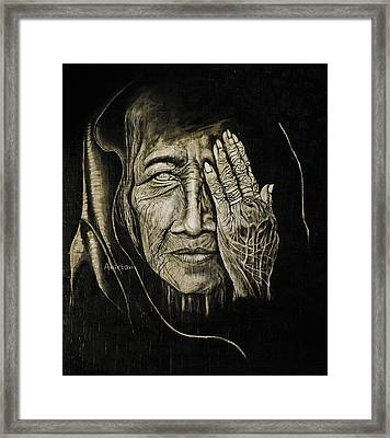 One Eyed Vision Framed Print