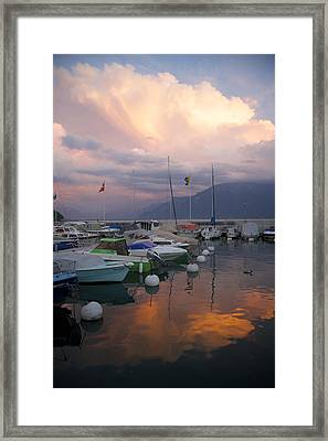 One Fine Evening Framed Print