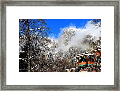 One Fine Winter Morning 2 Framed Print by Theresa Ramos-DuVon