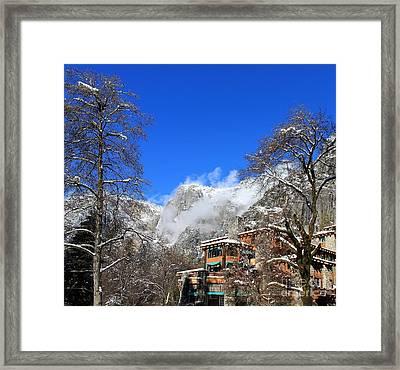 One Fine Winter Morning Framed Print by Theresa Ramos-DuVon